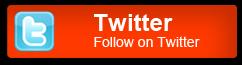 Botón de Twitter, globo muestran puntos calientes en 3D